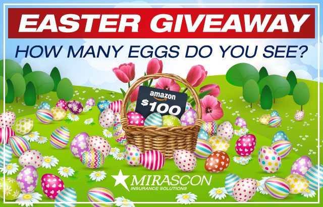 MIRASCON Easter Giveaway